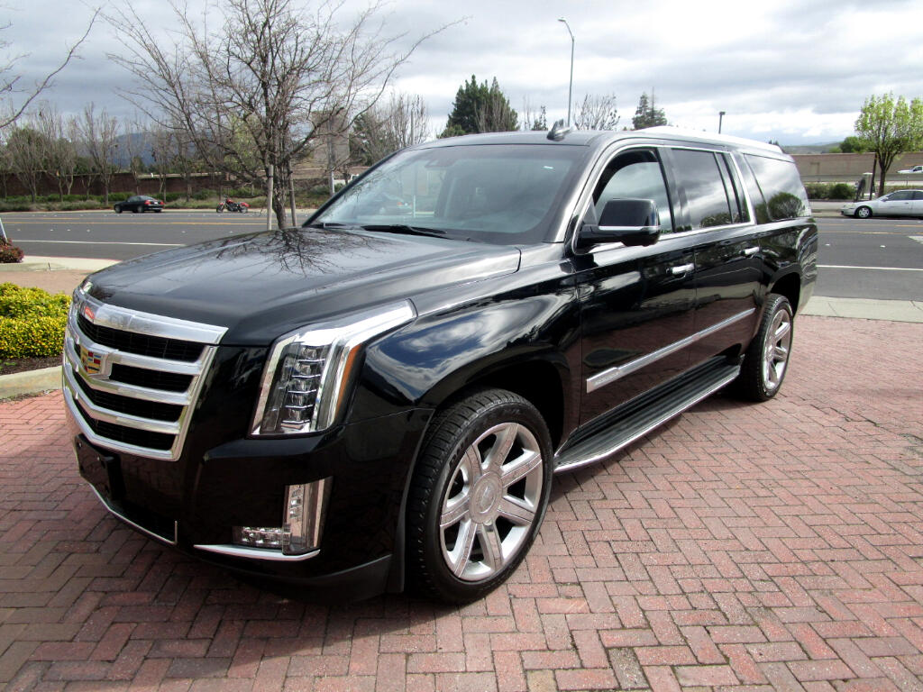 2016 Cadillac Escalade ESV PREMIUM*HEAT/AC SEATS*HEATED CAPT CHAIRS*DVD'S