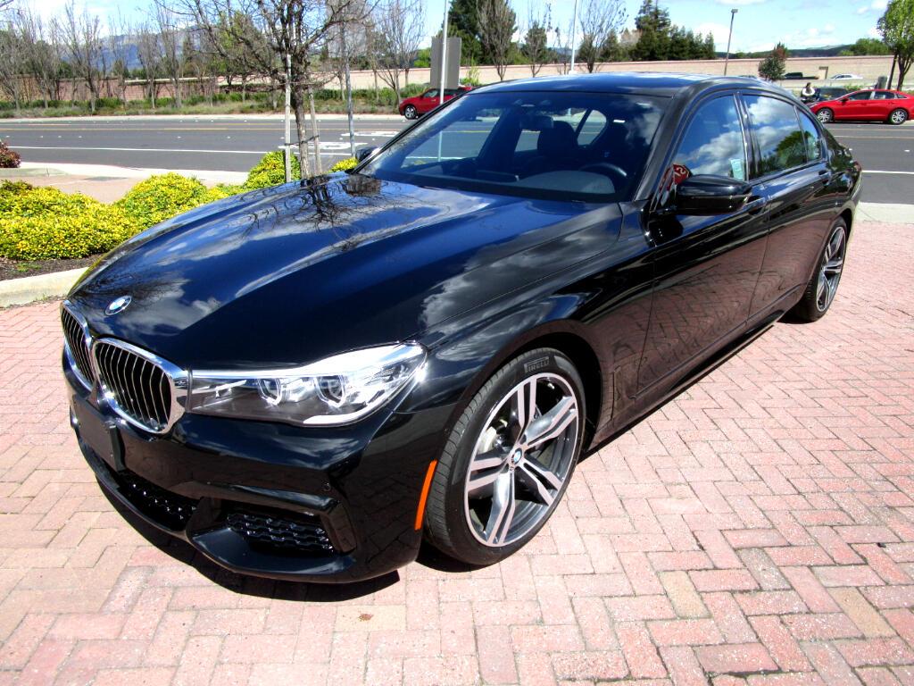 2016 BMW 740i M SPORT W/PADDLE SHIFT*PREMIUM PKG*DRIVER ASSIST*