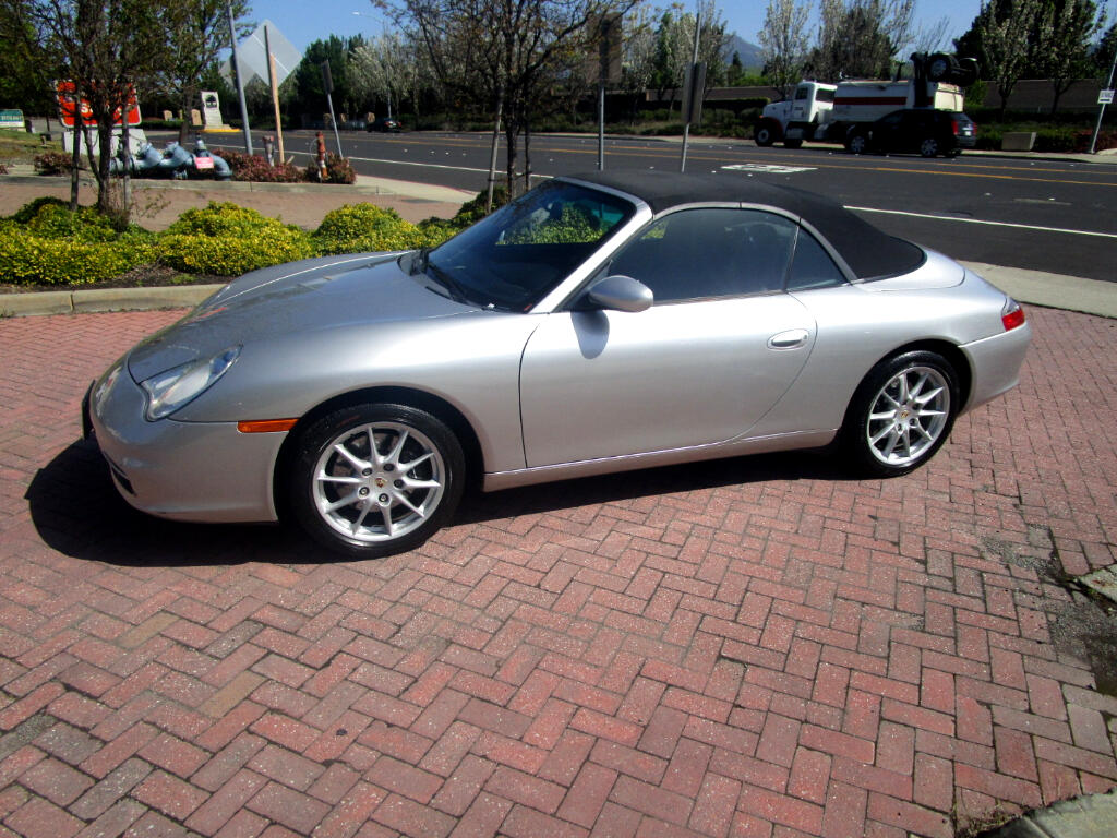 2002 Porsche 911 TIPTRONIC WITH PADDLE SHIFT**POWER TOP/GLASS REAR
