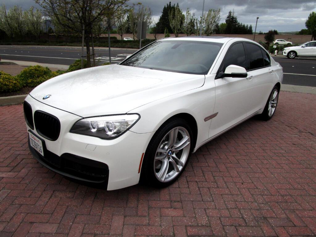 2013 BMW 750i M SPORT-PREMIUM PKG*SPORT HEAT SEATS*NAV*SAT*