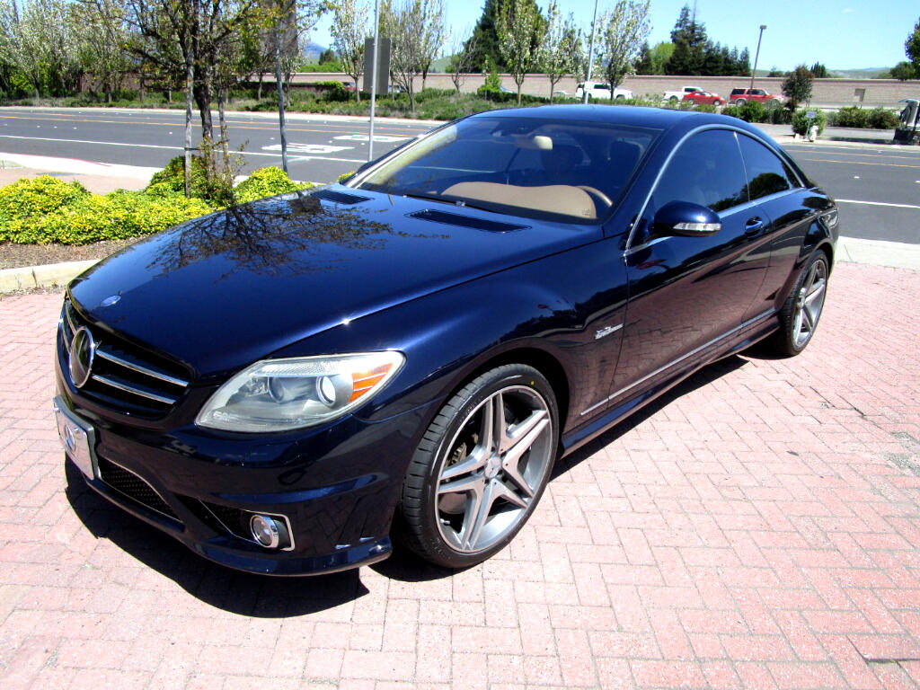 2008 Mercedes-Benz CL-Class CL63 AMG**518HP*DYNAMIC HEAT/AC SEATS*NIGHT VISION