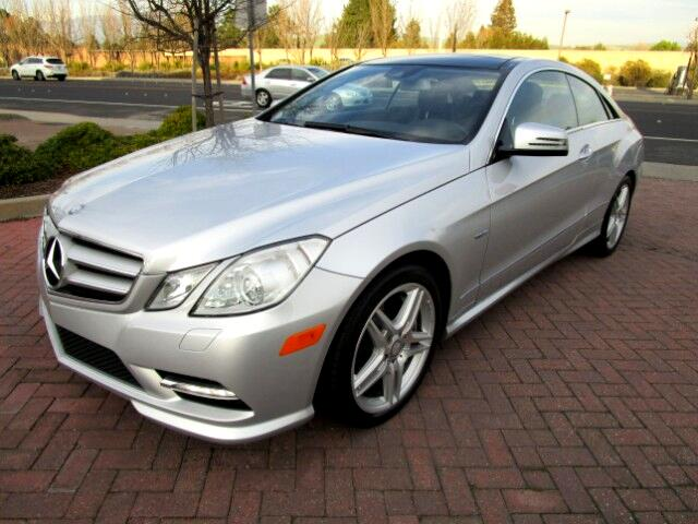 2012 Mercedes E-Class ONE OWNER LEASE RETURN IN BRAND NEW CONDITIONALL FACTORY PAINTNON SMOKER