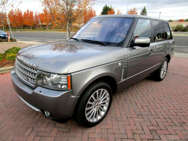 2011 Land Rover Range Rover SUPRCHARGEDONE OWNER LEASE RETURN IN BRAND NEW CONDITIONALL FACTOR