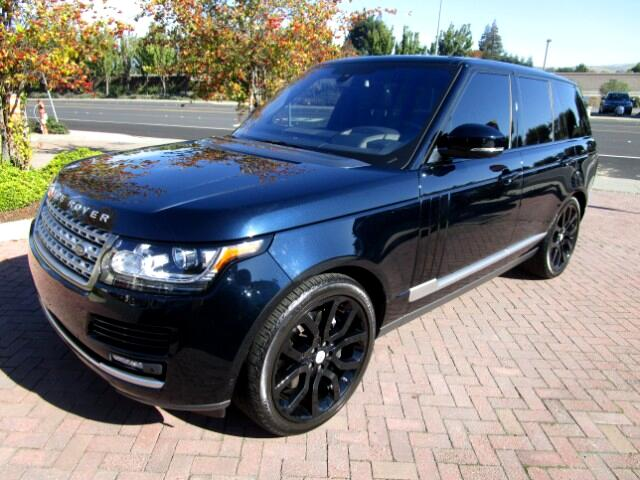 2016 Land Rover Range Rover HSE LUXURY V8 Supercharged