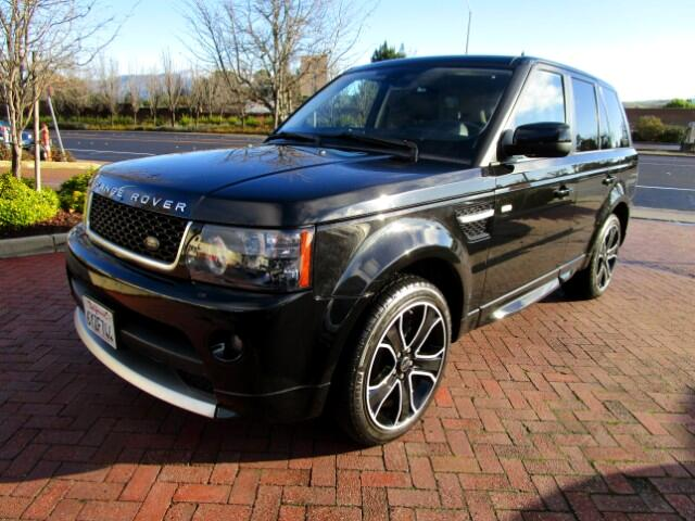 2013 Land Rover Range Rover Sport RARE HSE GT LE ONE OF A HANDFUL MADEROVER FINANCIAL LEASE RETU