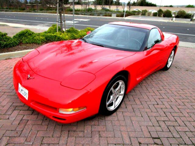 2002 Chevrolet Corvette LOCAL TRADE IN EXCELLENT CONDITIONALL FACTORY PAINTNON SMOKERCLEAN CA