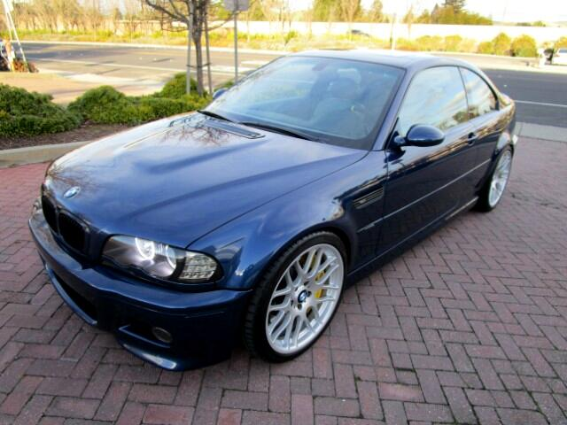 2003 BMW M3 LOCAL TRADE IN BRAND NEW CONDITIONALL FACTORY PAINTNON SMOKERCLEAN CARFAXSMG WI