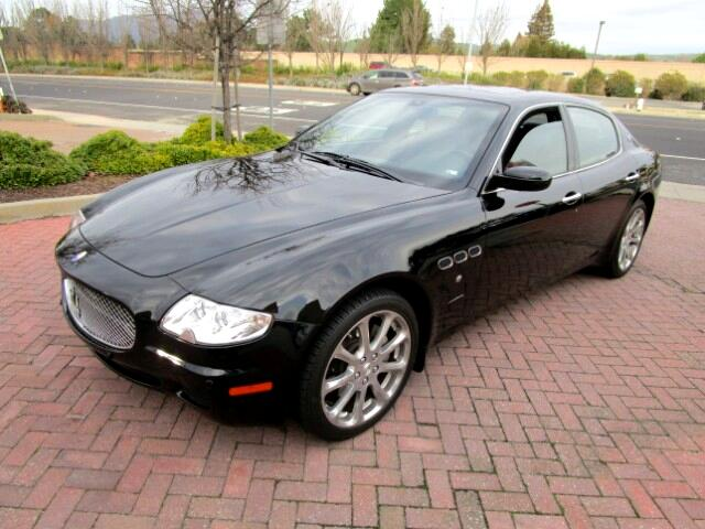 2006 Maserati Quattroporte LOCAL TRADE IN BRAND NEW CONDITIONPRIOR PAINT ON DRIVER FENDER FROM CA