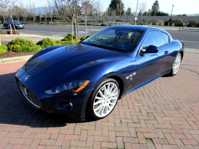 2012 Maserati GranTurismo ONE OWNER LEASE RETURN IN EXCELLENT CONDITIONALL FACTORY PAINTNON SMO
