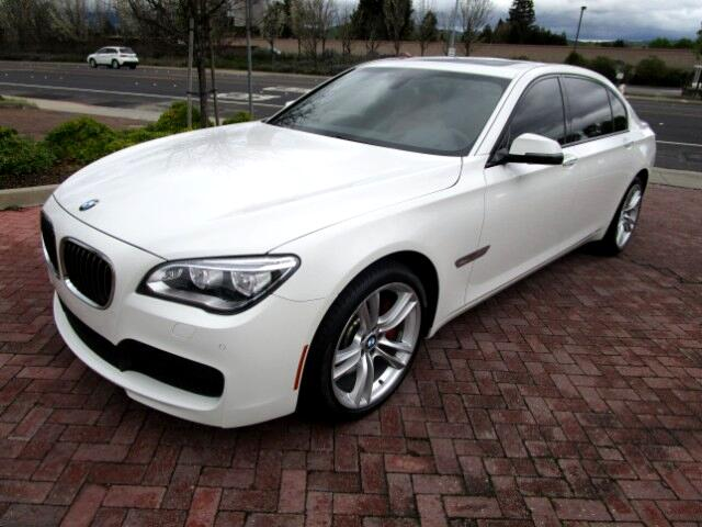 2013 BMW 750Li BMW FINANCIAL LEASE RETURN IN BRAND NEW CONDITIONALL FACTORY PAINTNONSMOKERCLE