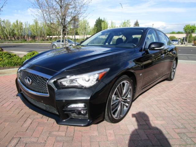 2014 Infiniti Q50 LOCAL TRADE IN EXCELLENT CONDITIONALL FACTORY PAINTNON SMOKERCLEAN CARFAX