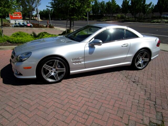 2009 Mercedes SL-Class LOCAL TRADE IN EXCELLENT CONDITIONALL FACTORY PAINTNONSMOKERCLEAN CARF