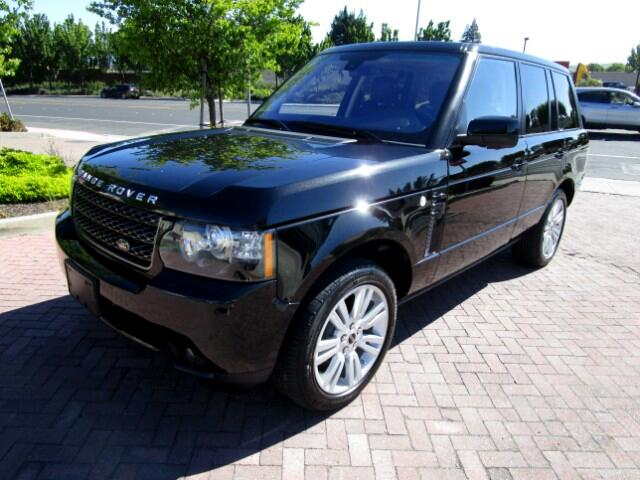 2012 Land Rover Range Rover ONE OWNER LEASE RETURN IN BRAND NEW CONDITIONALL FACTORY PAINTNON S