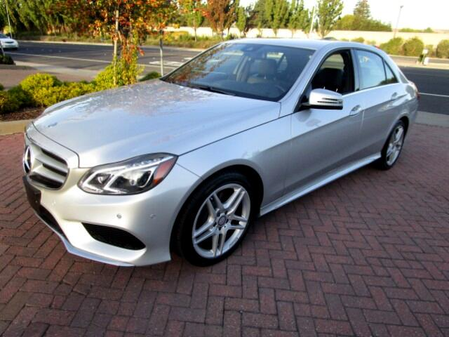 2016 Mercedes-Benz E350 4MATIC WITH AMG SPORT-P1-APPEARANCE PKGS