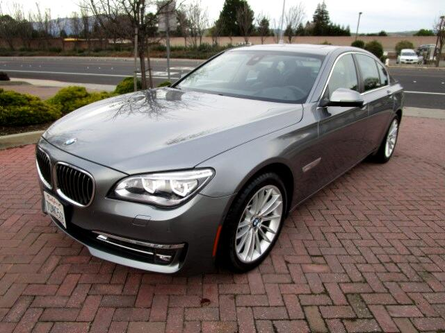 2014 BMW 750i PREMIUM-EXECUTIVE PACKAGES-DRIVER ASSIST