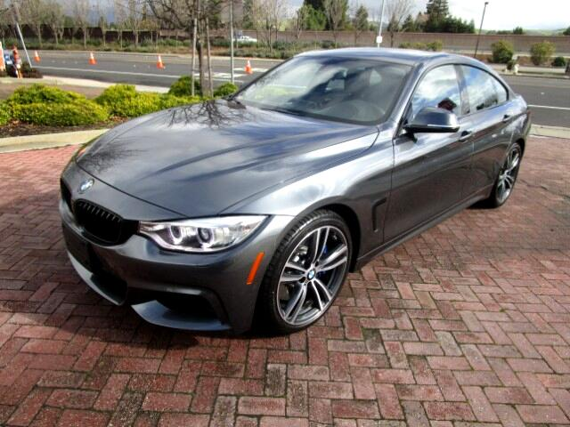 2016 BMW 4-Series Gran Coupe M SPORT-PREMIUM-TRACK HANDLING PACKAGES
