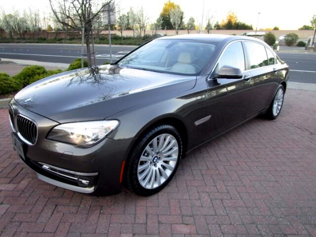 2013 BMW 750Li PREMIUM-EXECUTIVE-COLD WEATHER PACKAGES