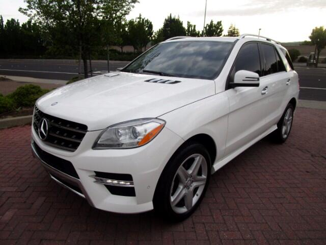 2014 Mercedes-Benz ML350 BLUTEC DIESEL 4MATIC WITH AMG-PREMIUM-APPEARANCE P