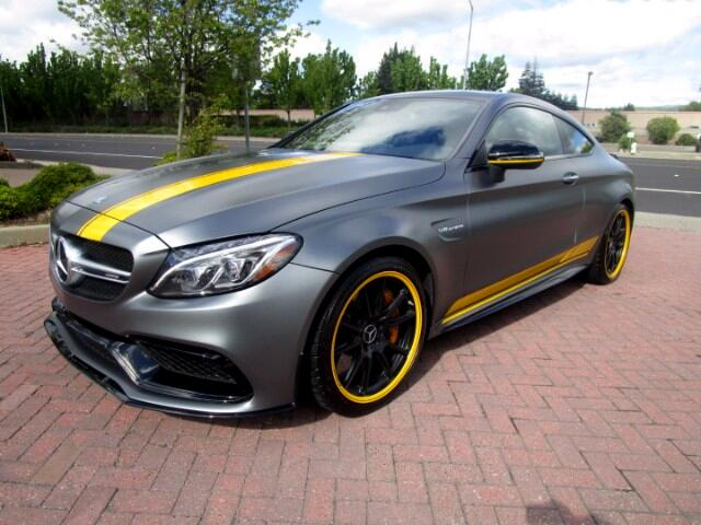 2017 Mercedes-Benz C63 AMG S COUPE BITURBO WITH 503 HORSEPOWER