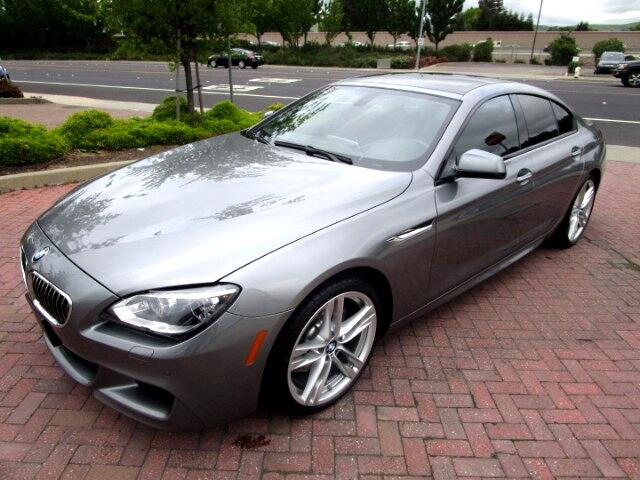 2014 BMW 640i Gran Coupe M SPORT-PREMIUM WITH M WHEEL & PADDLE SHIFTERS
