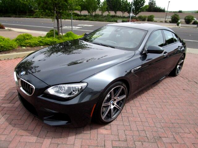 2014 BMW M6 BMW M6 GRAN COUPE WITH COMPETITION PACKAGE-DRIVER