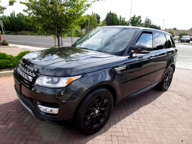 2015 Land Rover Range Rover Sport SUPERCHARGED WITH DRIVER ASSIST