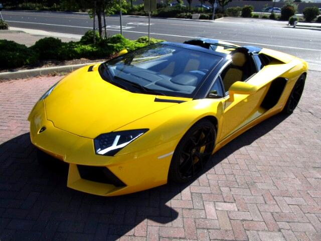 2015 Lamborghini Aventador LP700-4 ROADSTER WITH 691-720HP WITH F1 SHIFTERS