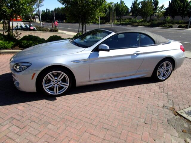 2016 BMW 640i M SPORT CONVERTIBLE WITH PADDLE SHIFTERS