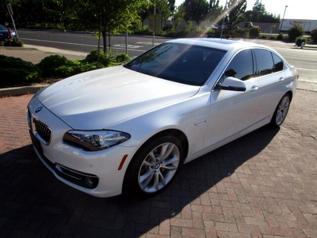 2014 BMW 535i PREMIUM LUXURY LINE PACKAGE WITH SPORT WHEEL/PADDL