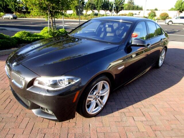 2014 BMW 550i M SPORT-PREMIUM W/PADDLE SHIFTERS