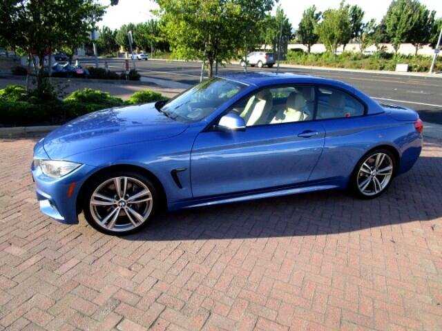 2014 BMW 435i M SPORT CONVERTIBLE..SPORT WHEEL-PADDLES