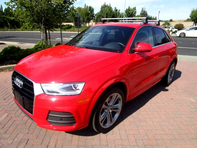 2016 Audi Q3 2.0T QUATTRO PLUS WITH PANO ROOF*BLIND SPOT ASSIST