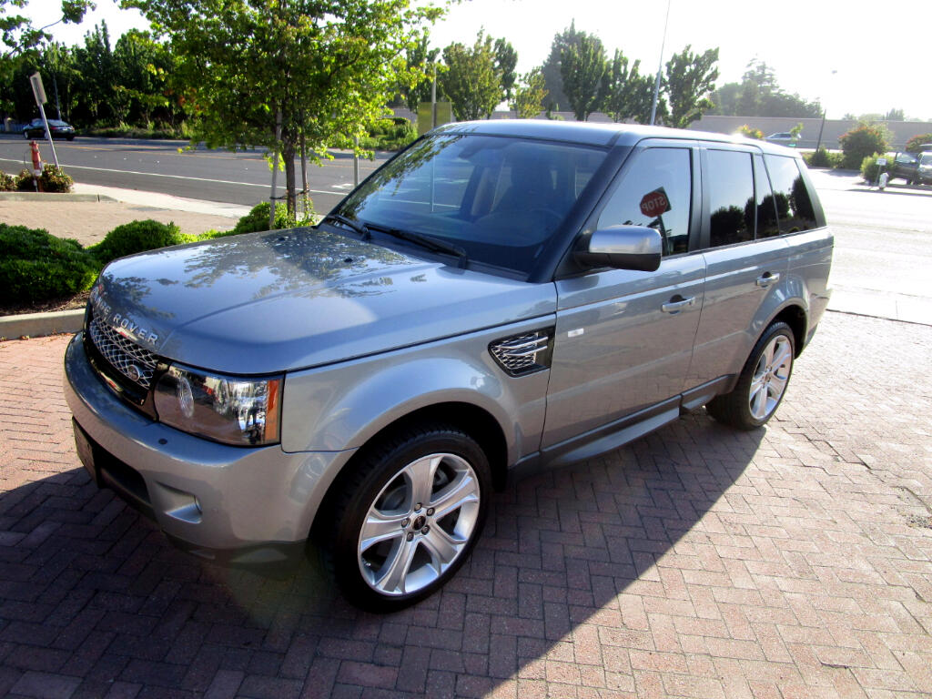 2012 Land Rover Range Rover Sport HSE LUX PACKAGE