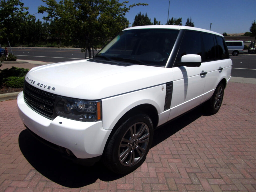2011 Land Rover Range Rover HSE LUX PACKAGE WITH TOW PKG
