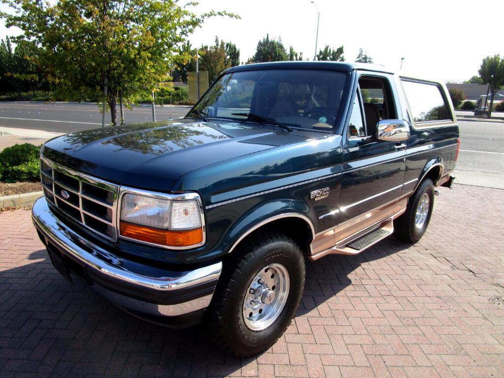 1995 Ford Bronco EDDIE BAUER EDITION
