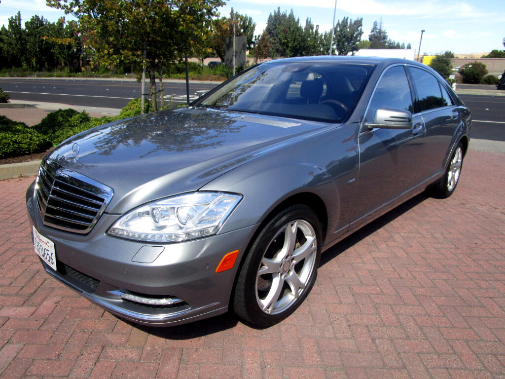 2012 Mercedes-Benz S-Class S350 BLUETEC 4MATIC WITH PANO