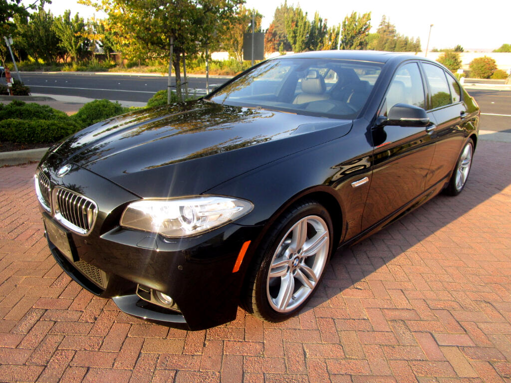 2014 BMW 535i M SPORT-PREMIUM PACKAGE WITH PADDLE SHIFTERS