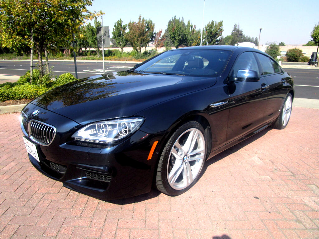 2015 BMW 640i Gran Coupe M SPORT-EXECUTIVE-DRIVER ASSIST-COMFORT LUX SEATS