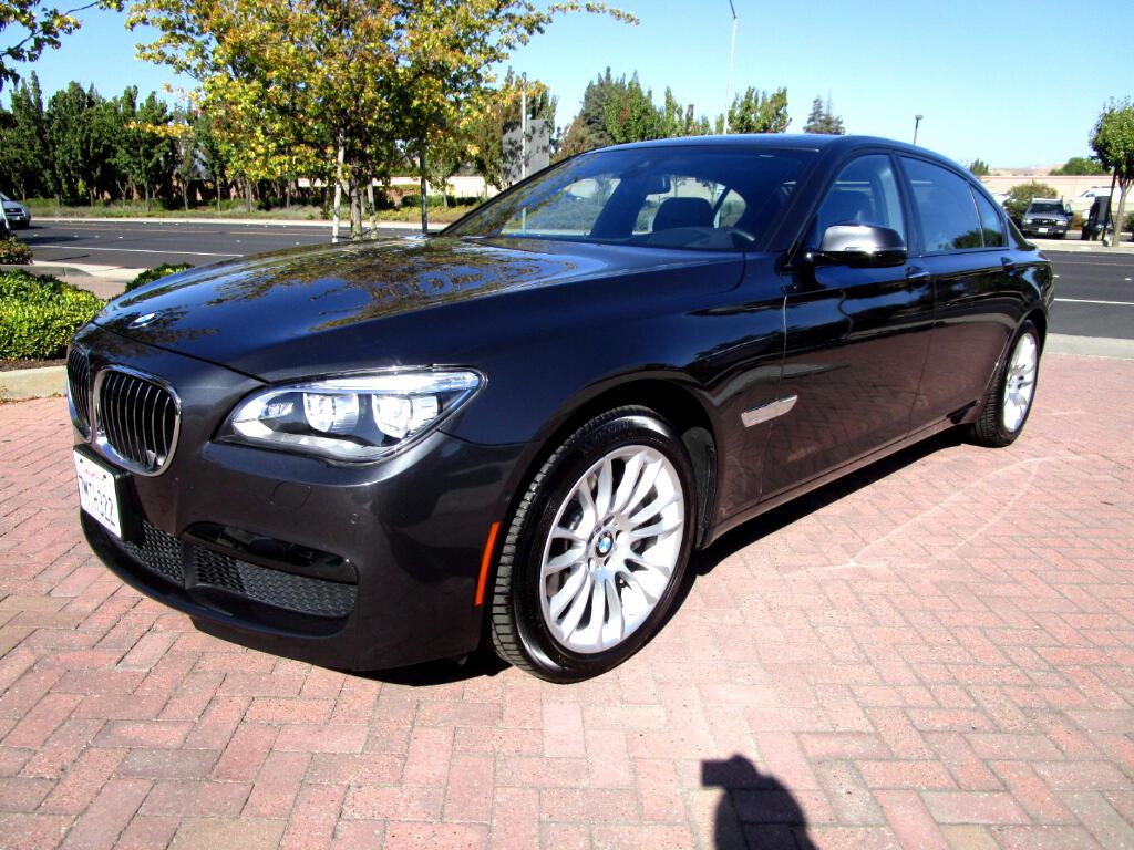 2015 BMW 740Li 740LD DIESEL X DRIVE*COLD WEATHER*M SPORT*DRIVER A