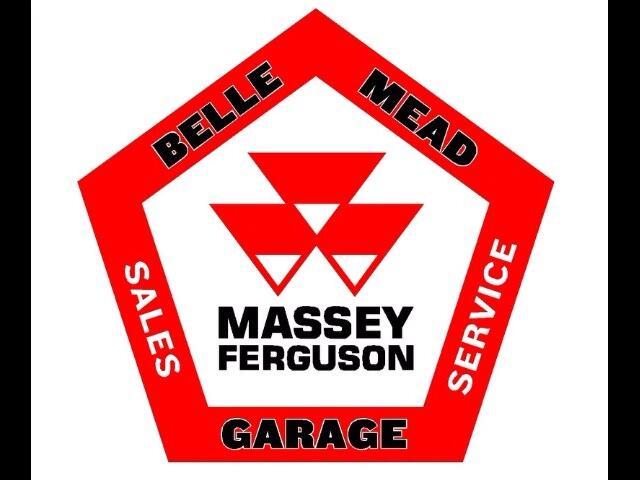 2005 Massey Ferguson Farm MF496 4X4 CAB TRACTOR LOADER