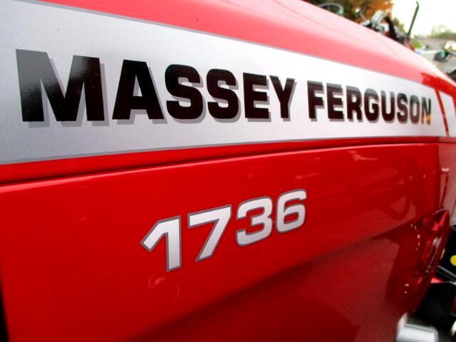 2017 Massey Ferguson Farm MF1736HL 4X4 DIESEL TRACTOR