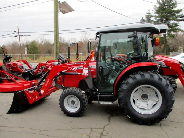 2017 Massey Ferguson Farm 1736HL  4X4 LOADER CAB TRACTOR    MASSEY