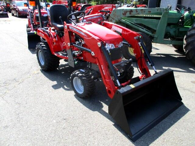 2017 Massey Ferguson Farm GC1705L 4X4 SUBCOMPACT TRACTOR WITH LOADER