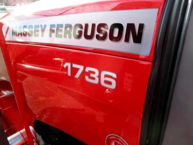 2017 Massey Ferguson Farm 1736HL 4X4 TRACTOR LOADER