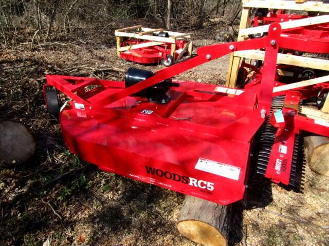 2017 Woods D184-2 RC5 5' ROTARY MOWER