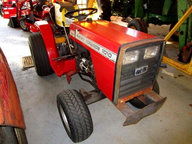 1986 Massey Ferguson Farm MF 1010 COMPACT UTILITY TRACTOR