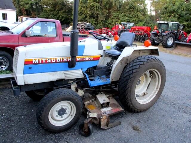 1986 Mitsubishi Mighty Max MT250D 4WD TRACTOR WITH MOWER