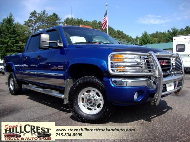 2004 GMC Sierra 2500HD SLE Crew Cab Short Bed 4WD