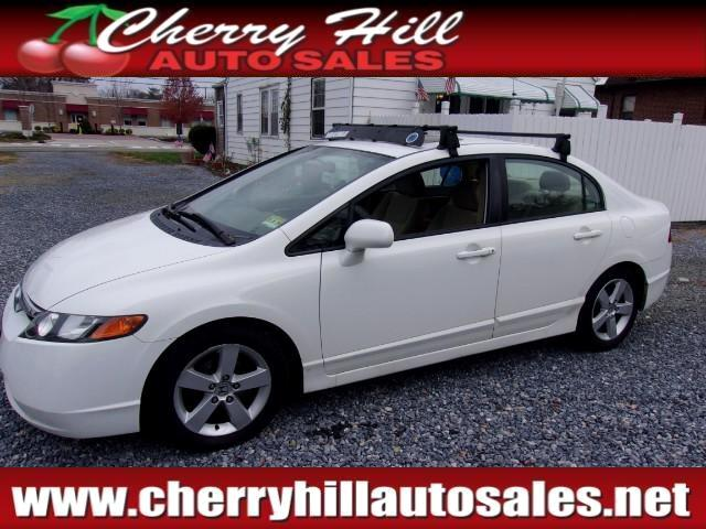 2007 Honda Civic EX Sedan with Front Side Airbags