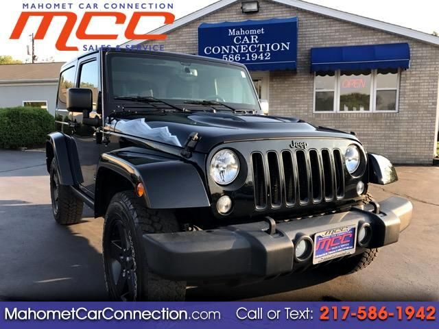 2015 Jeep Wrangler Sahara 4WD X (Limited Model)